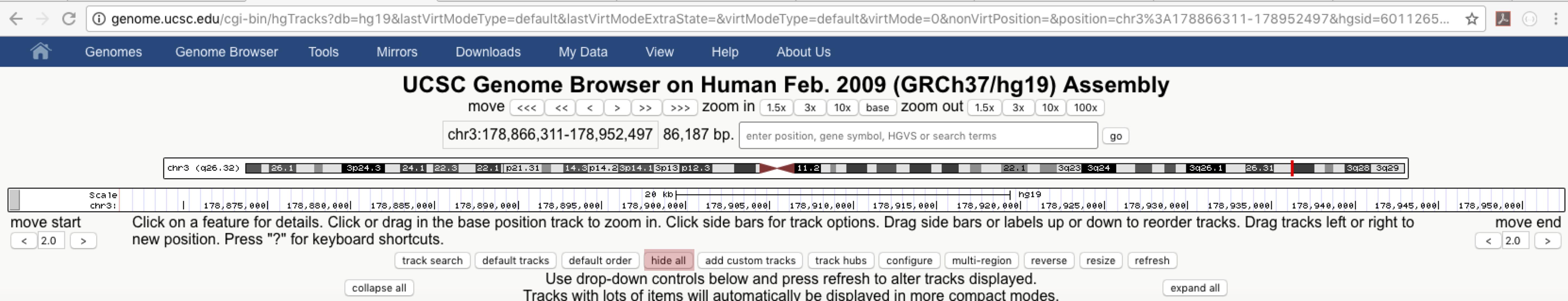 genome browser blat